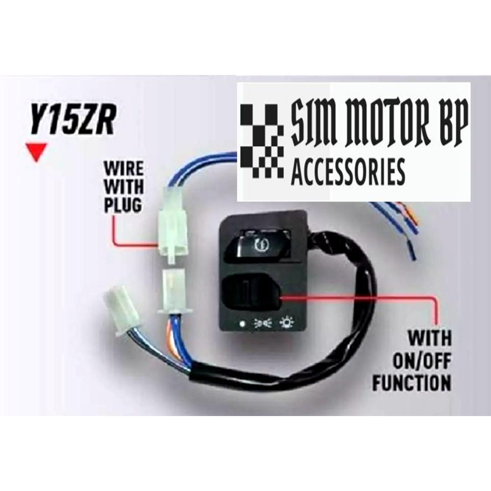 Yamaha Y15 Y15zr Handle Switch On Off