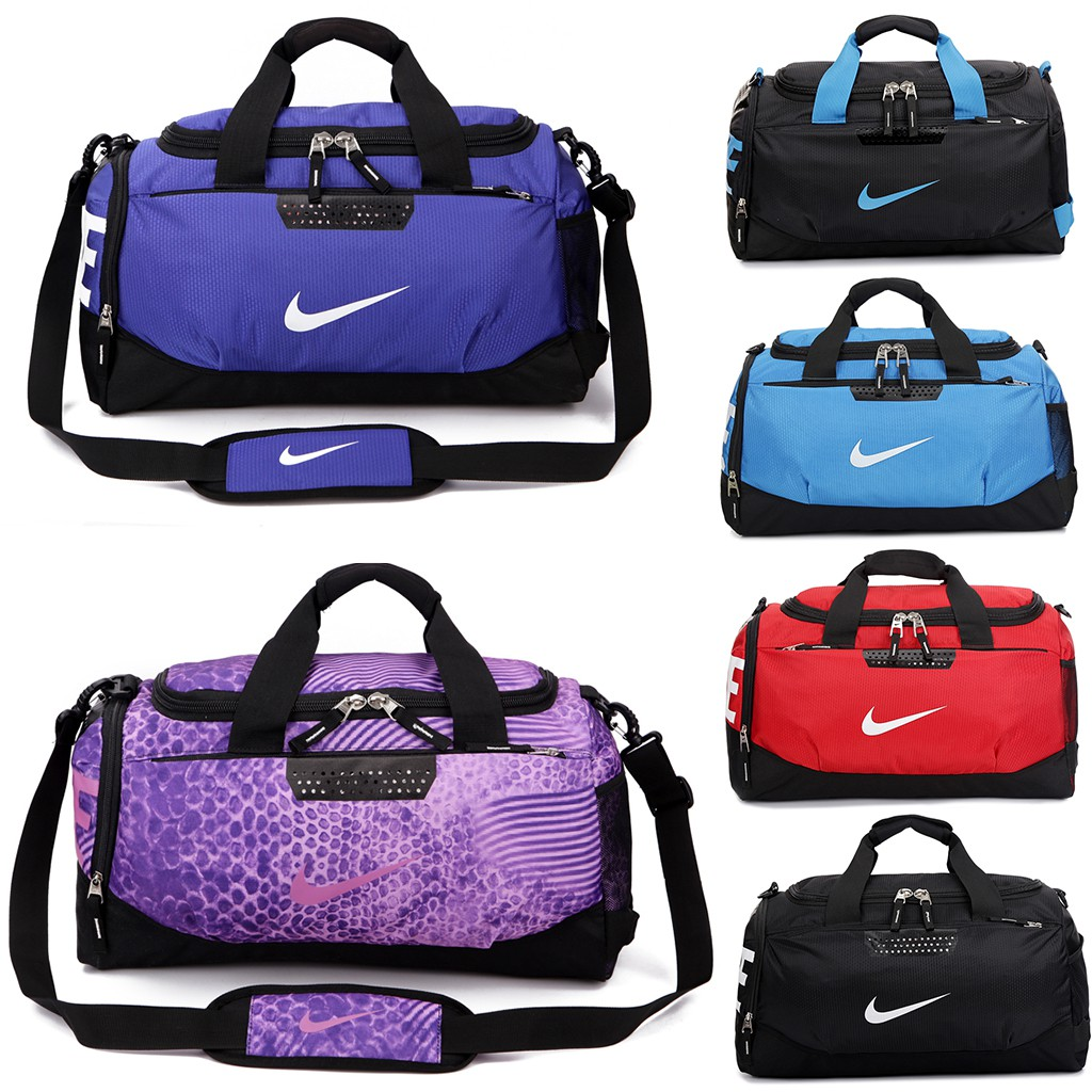 Travel Duffel Bag Purple Forest Waterproof Lightweight Luggage bag for Sports Vacation Gym