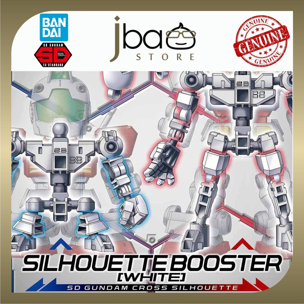 Bandai SD Gundam Cross Silhouette Silhouette Booster White 12 Model Kit Option Parts