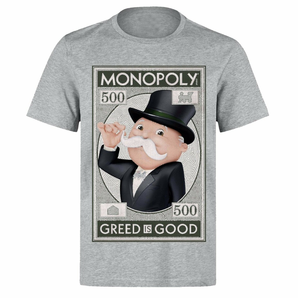 Short-Sleeve Unisex T-Shirt Black Greed is Not Good