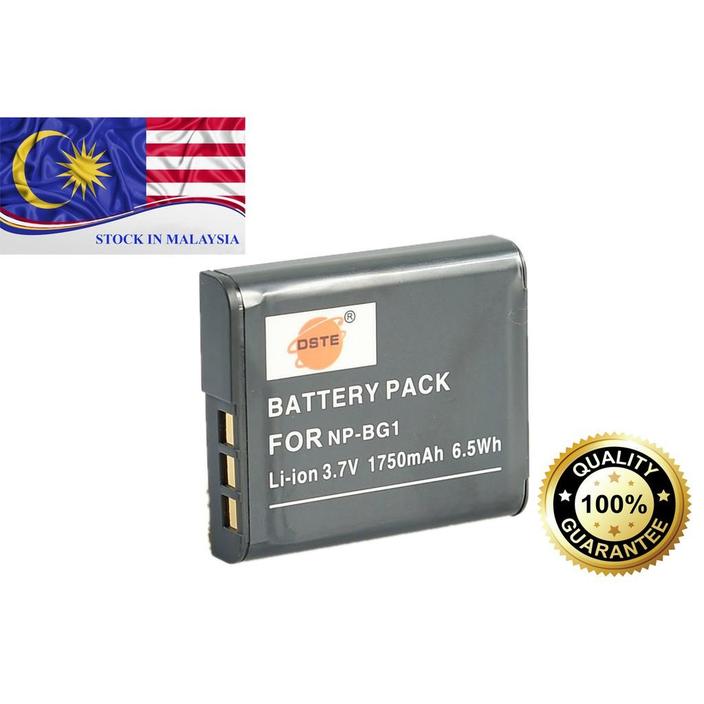 DSC-W90, DSC-W80//B DSC-W35 NPBG1 NPFG1 for DSC-W30 DSC-W55//L DSC-W55//B NP-FG1 DSC-W80//P DSC-W55 DSC-W80//W DSC-W80 DSC-W50 DSC-W40 DSC-W55DBL DSC-W70 Camera Battery Charger for Sony Cyber-shots Compatible with NP-BG1 DSC-W80HDPR DSC-W55//P
