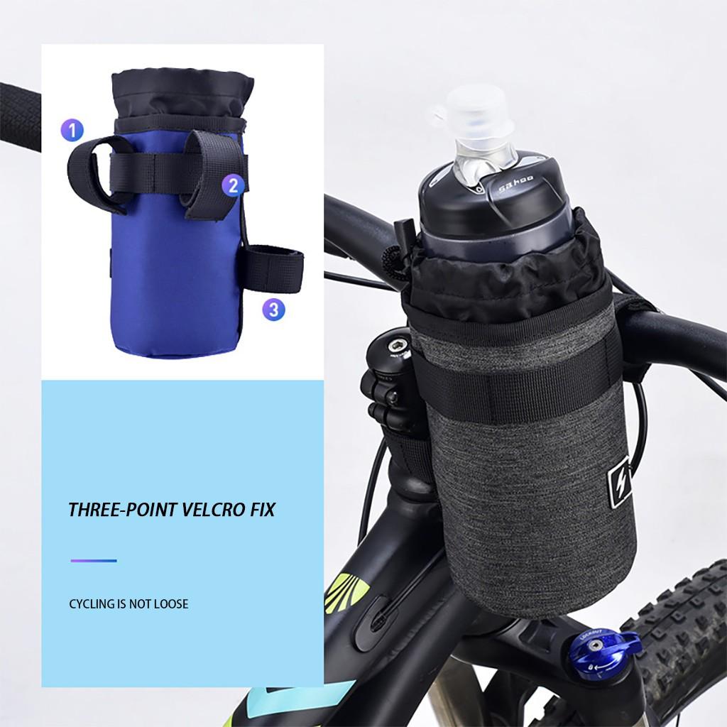 2pcs MTB Mountain Bike Bicycle Handlebar Light Nylon Strap Phone Pump Fixing Tie