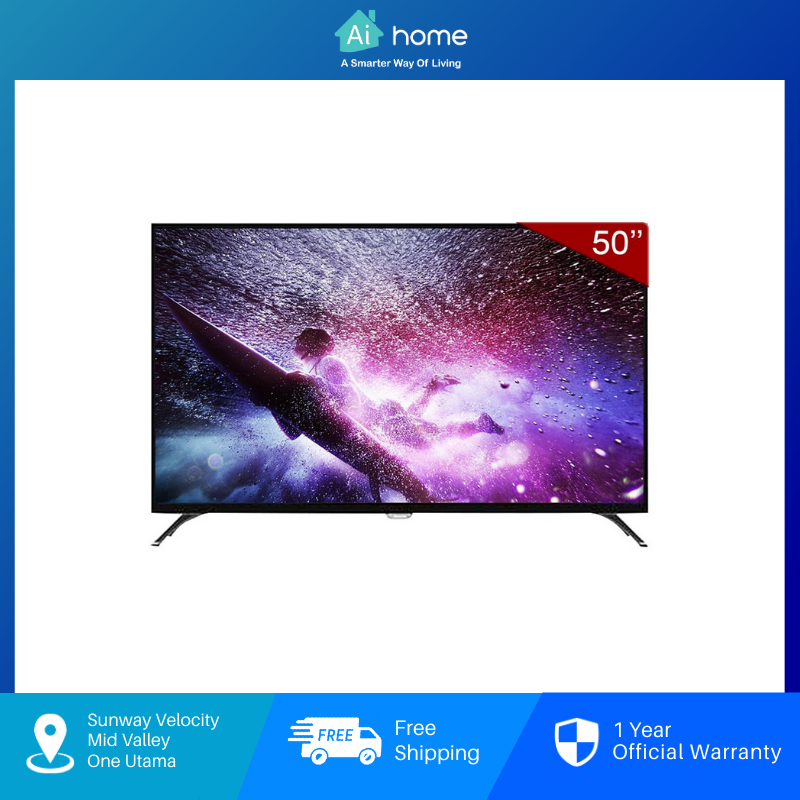 """PHILIPS SMART TV 4K WITH PIXEL PLUS ULTRA HD 50"""" (6000 SERIES) [ Aihome ]"""