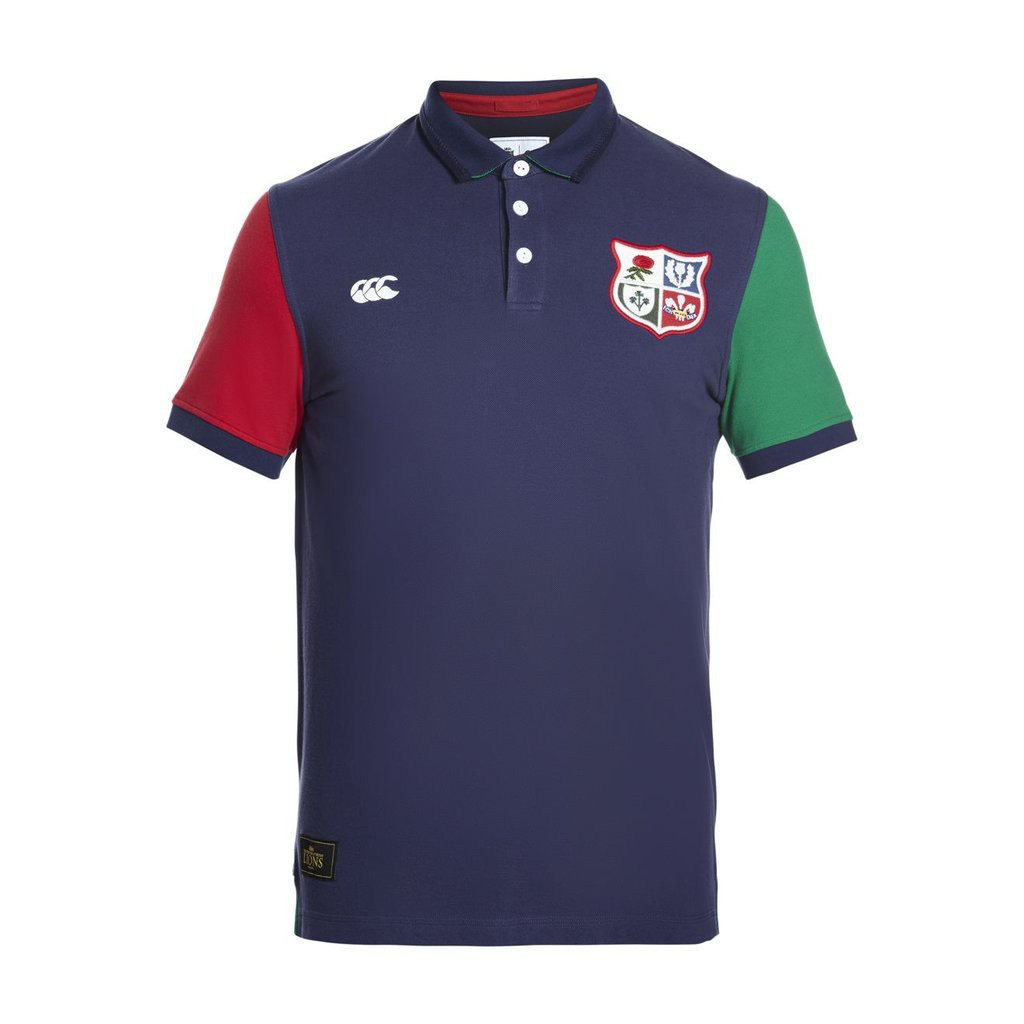 MENS BRITISH   IRISH LIONS QUARTERED SS RUGBY  961f5bada