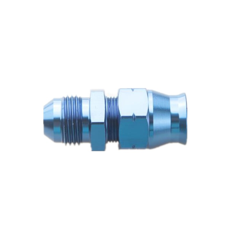 """8AN AN-8 Female Swivel To Male 1//4/"""" NPT Straight Aluminum Adapter Fitting Blue"""