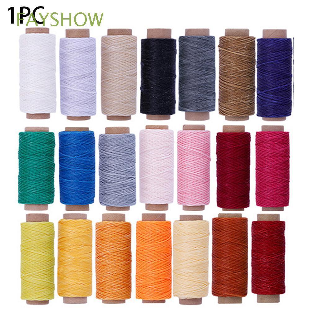 50Meters Tool Flat Hand Stitching DIY Handicraft Waxed Thread
