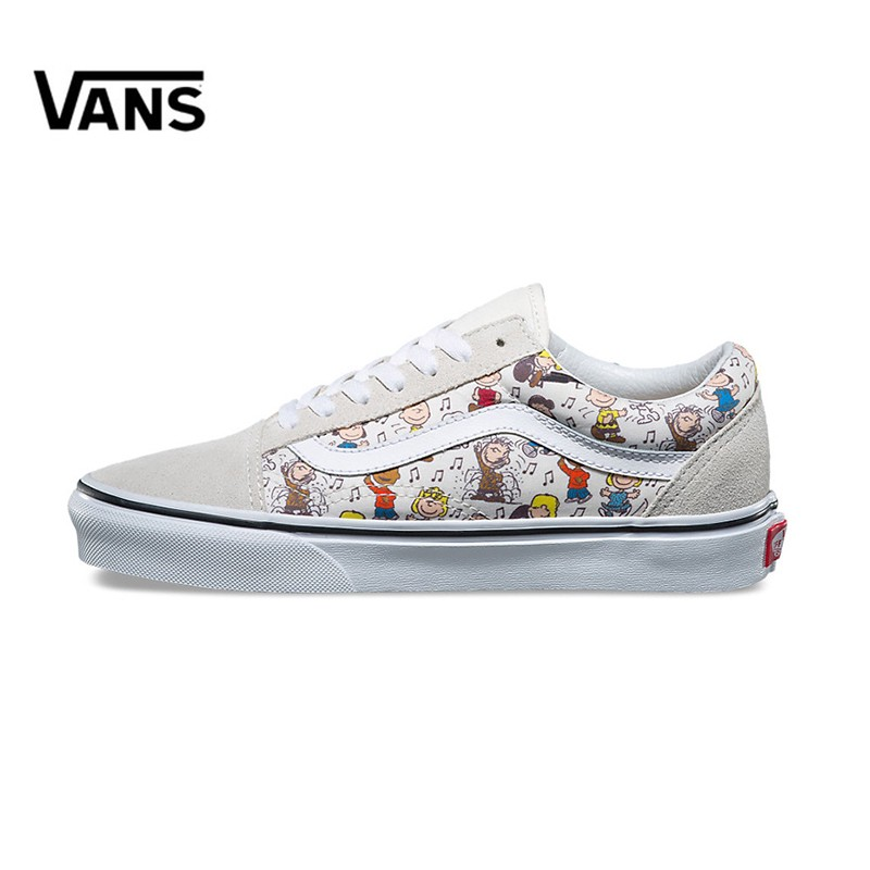 7618393346 Original New Arrival Vans Men s   Women s Classic OLD SKOOL X Peanuts  Low-top