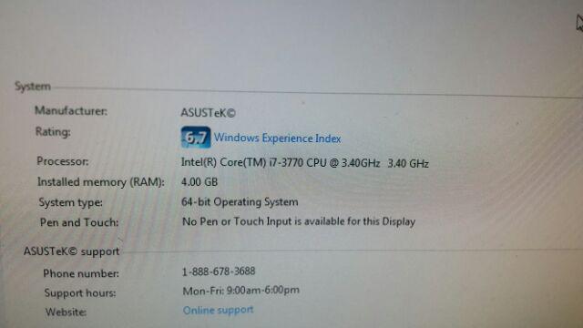 Intel Core i7-3770 3770S 3 40 Ghz Socket 1155 i7 3770 3rd generation  Processor