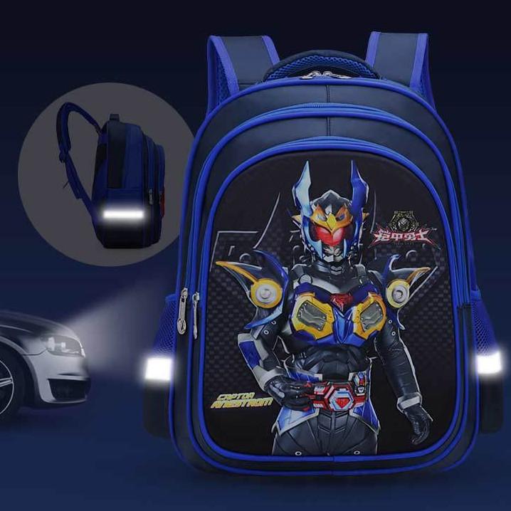 Gambar Kereta Versi Kartun Beg Sekolah Kanak Kanak Lelaki 3d Versi Kartun Otto Perisai Pahlawan Keras Shell Beg Kalis Air Shopee Malaysia