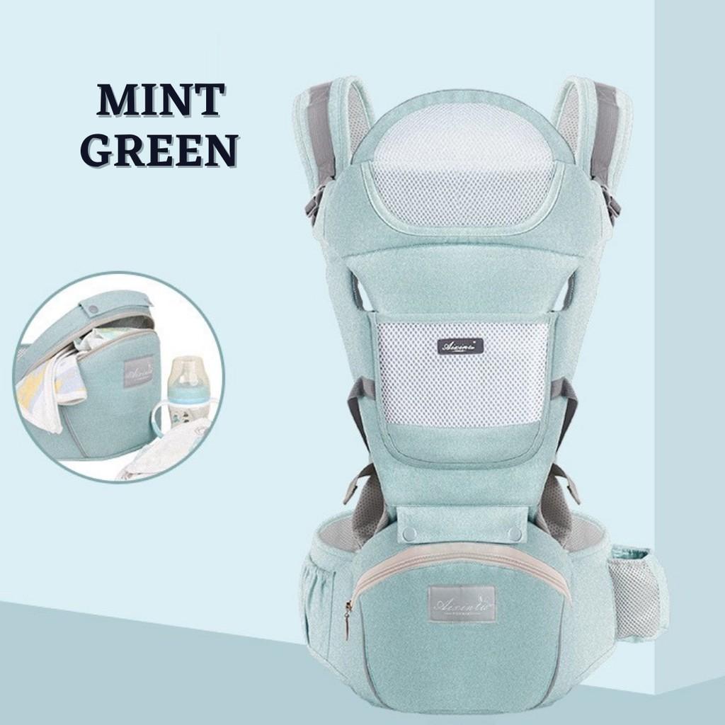 JK HOME Premier Baby Carrier Infant Comfortable Breathable Multifunctional Sling Backpack Hip Seat Cuddle Carrie