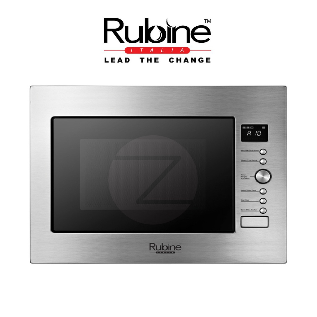 Rubine Built-in Microwave Oven RMO-934SS-GD34X