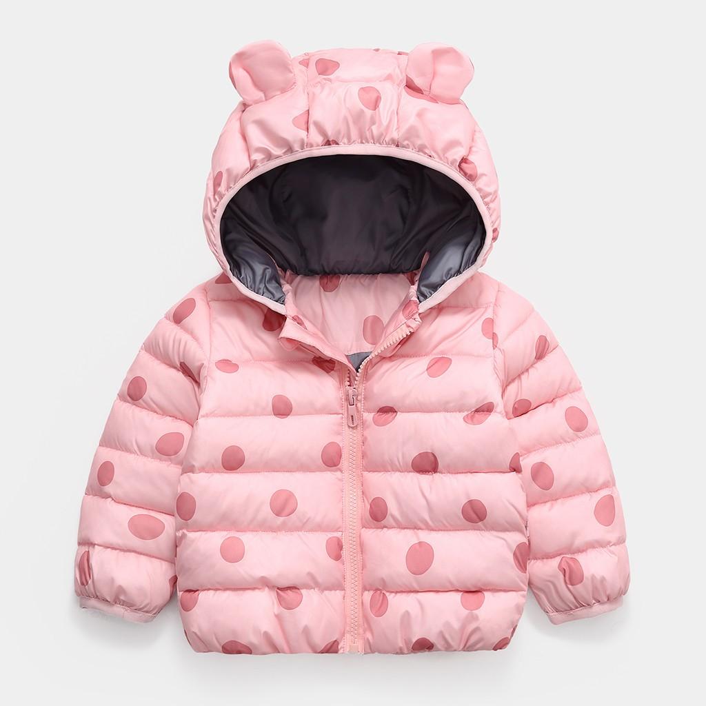 Baby Girls Windproof Cloak Coat Jacket Princess Toddler Kids Long Sleeve Solid Windbreaker Autumn Winter Overcoat Thick Warm Clothes Outwear Children Warm Snowsuit 1-6 Years