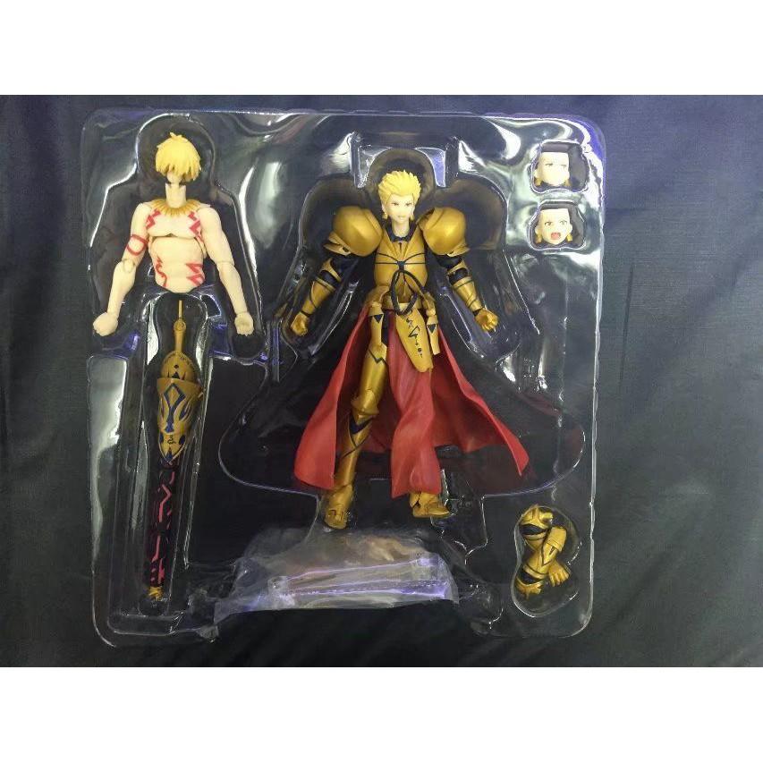 Figma 300#Fate Archer Gilgamesh Game Series Figure Model 15cm PVC Doll Toys