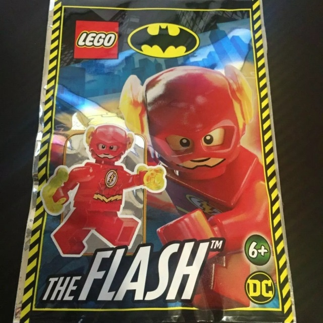Lego® Super Heroes Minifigur The Flash Foilpack Limited Edition 211904 Neu