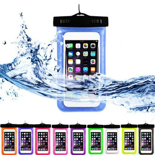 Waterproof Transparent PVC Phone Case Cover for Android