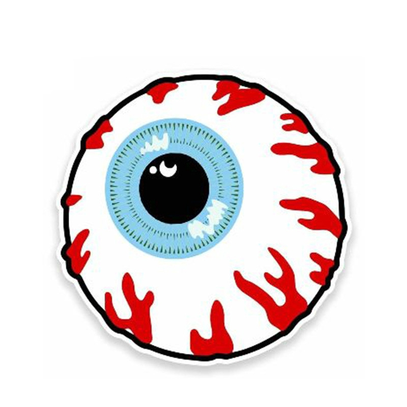 Eyeball Set Of 2 Vinyl Car Bumper Windows Vehicle Sticker decal