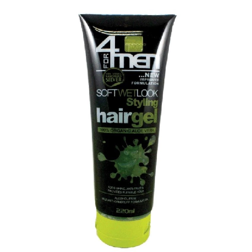 Episode New York Hair Gel Soft Wet Look Hair Styling Gel 220ml