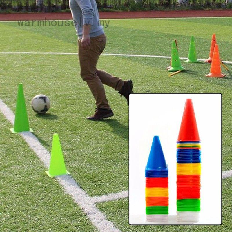 10x Football Rugby Sport Cross Training Space Marker Soccer Cone Saucer 2016  rd