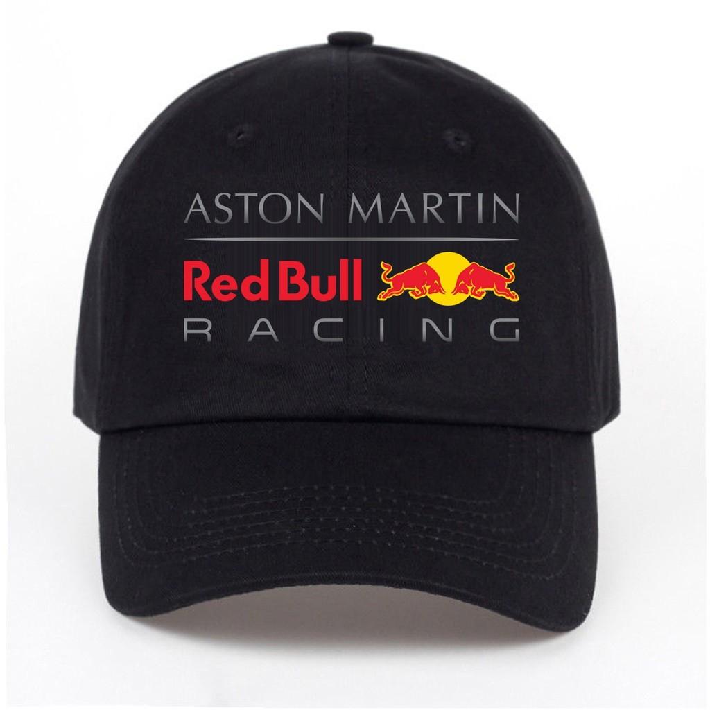 Aston Martin Red Bull Racing Baseball Cap Snapback Hat Shopee Malaysia