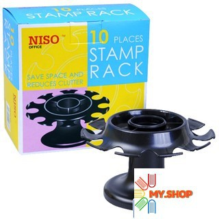Niso 10 Places Stamp Rack