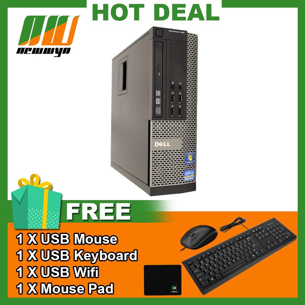 Dell Optiplex 990 SFF Intel Core i5-2400@3 10GHz Win 7 Pro [Refurbished]