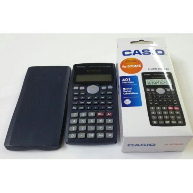 cbc54b24ca82 Casio Scientific Calculator FX-570MS