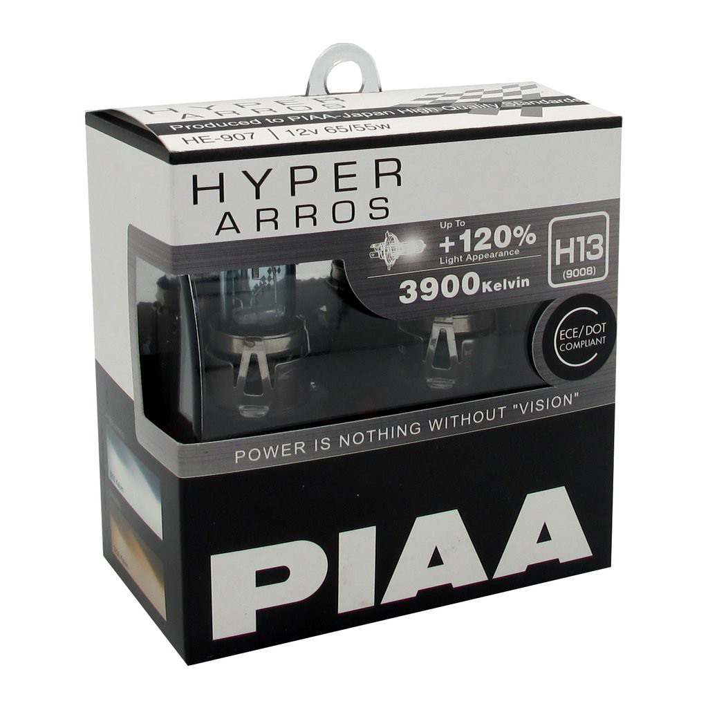 Bulbs H7 55 equal to 110W 12V PIAA HYPER Arros 3900K Briliant White Light