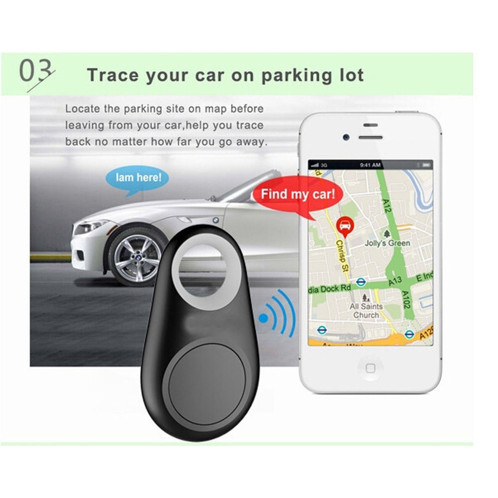 Smart Tag GPS Tracker Bluetooth Anti-lost Alarm Key Finder Locator Smartphone