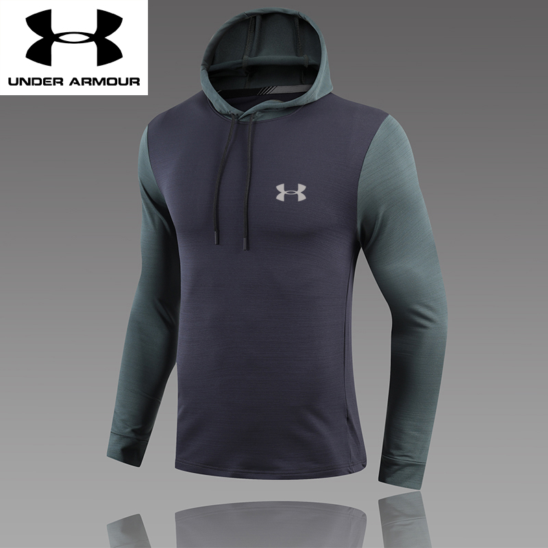 intelectual años Picotear  ✨Hot Sale✨Under Armour Men's Training Wear Tight Quick Dry T-shirt  Breathable Sports Fitness Clothes Long Sleeved T-shirt Hooded Top | Shopee  Malaysia