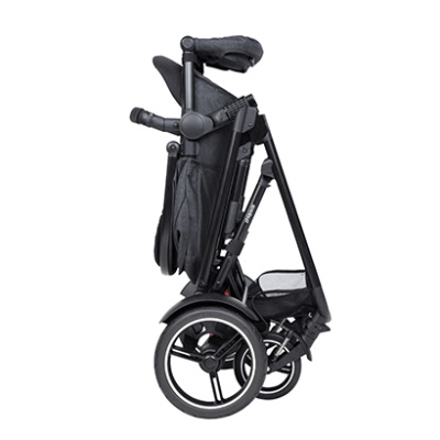 Phil & Teds: Voyager Buggy + Voyager Double Kit - CHILLI