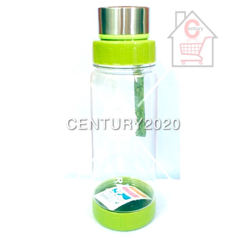 RIMEI Sports Water Bottle Travel Bottle Double Mouth Leak Proof With Strap And Filter Outdoor 980ml