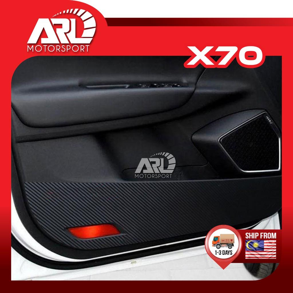 Proton X70 (2018-2020) Door Panel Protector Sticker Carbon Fiber Design Car Auto Acccessories ARL Motorsport