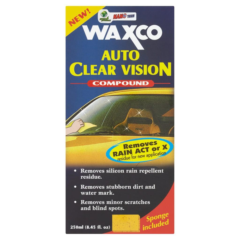 Waxco Auto Clear Vision Compound (250ml)