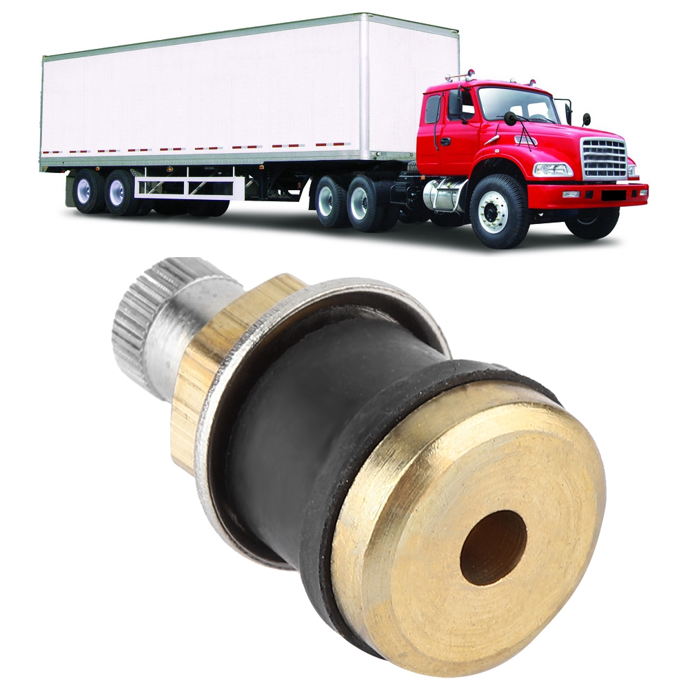 Tire Supply TR575 Clamp-In Brass Truck Valve 4