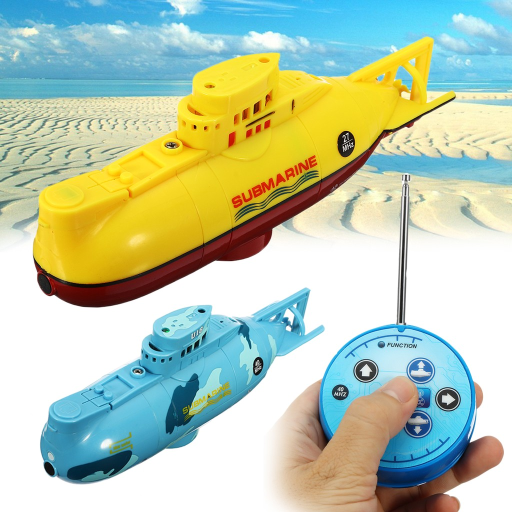 6 Channels Remote Control Mini Submarine Waterproof Model Ship