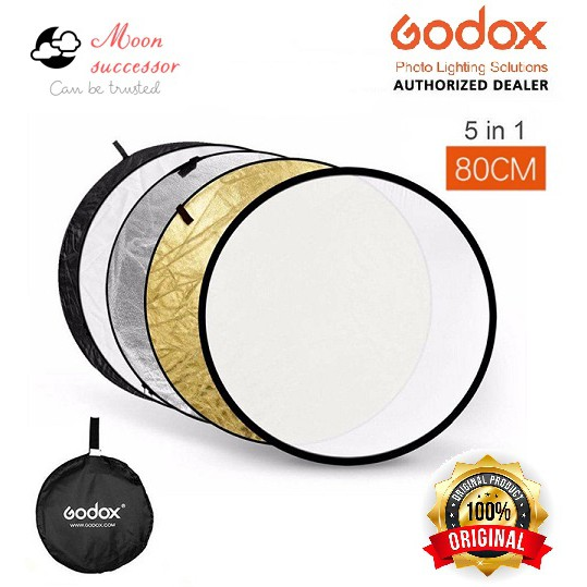 80cm for Studio Multi Photo Disc 5in1 Handhold Multi Collapsible Round Photography Portable Collapsible Reflector