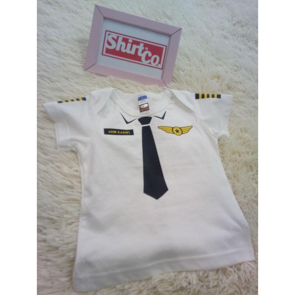 T-Shirt PILOT - Putih