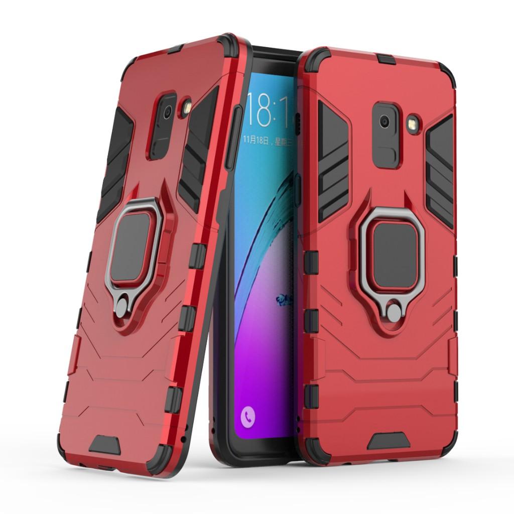 Xiaomi Pocophone Poco F1 Phone Case Hard Casing Armor Cover Finger Ring Holder | Shopee Malaysia