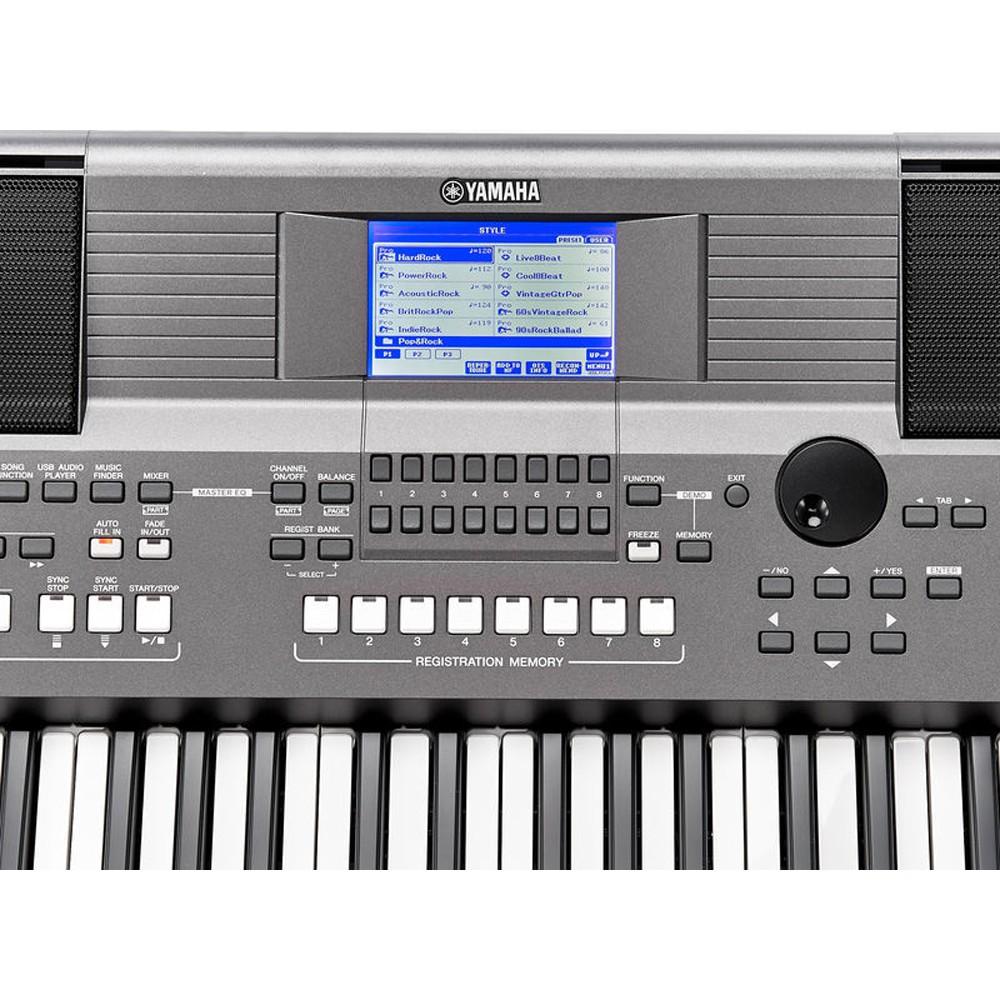 61 Key Yamaha PSR-S670 Portable AWM Stereo Sampling 416 Voice 10 DJ Styles  New