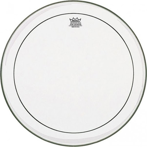 """Remo Drum Skin Pinstripe Clear 18"""" inch ( PS-0318-00 )"""