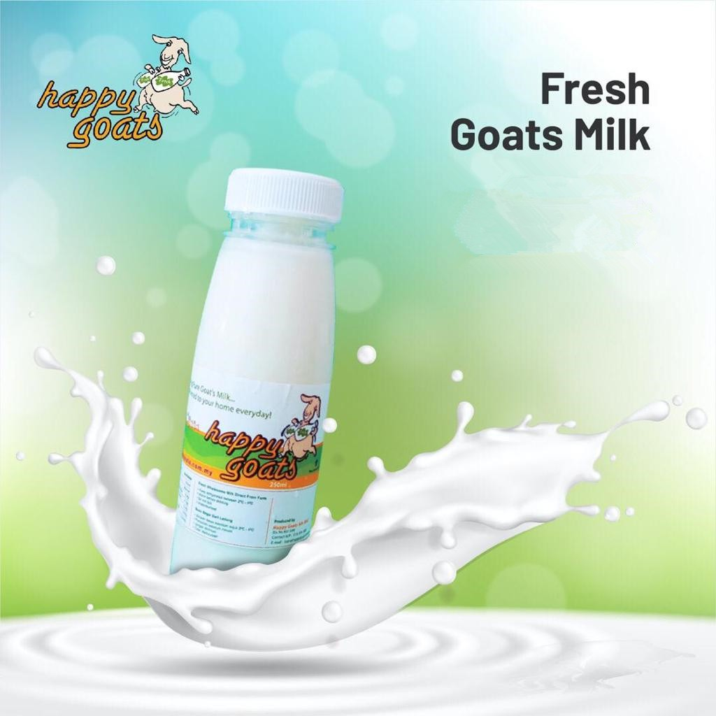 Happy Goats Fresh Goat Milk (Penang Only)