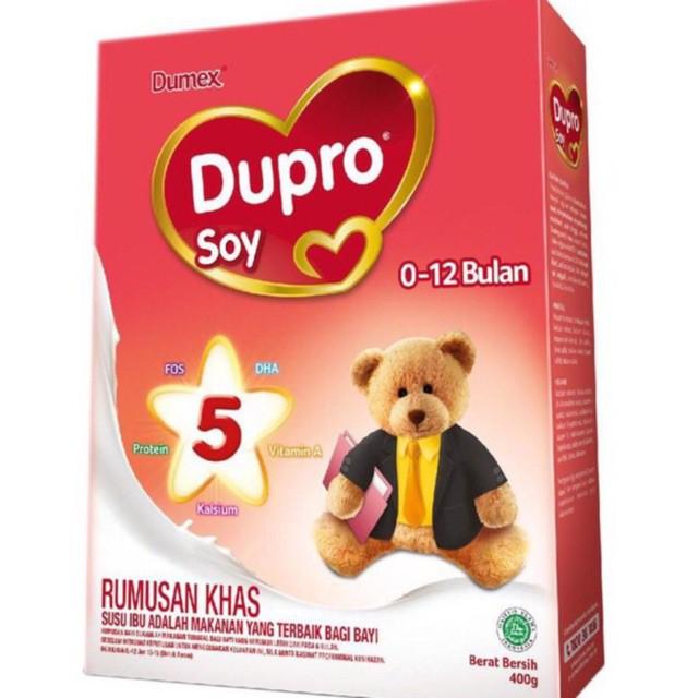 DUMEX DUPRO SOY 0-12 BULAN 400G