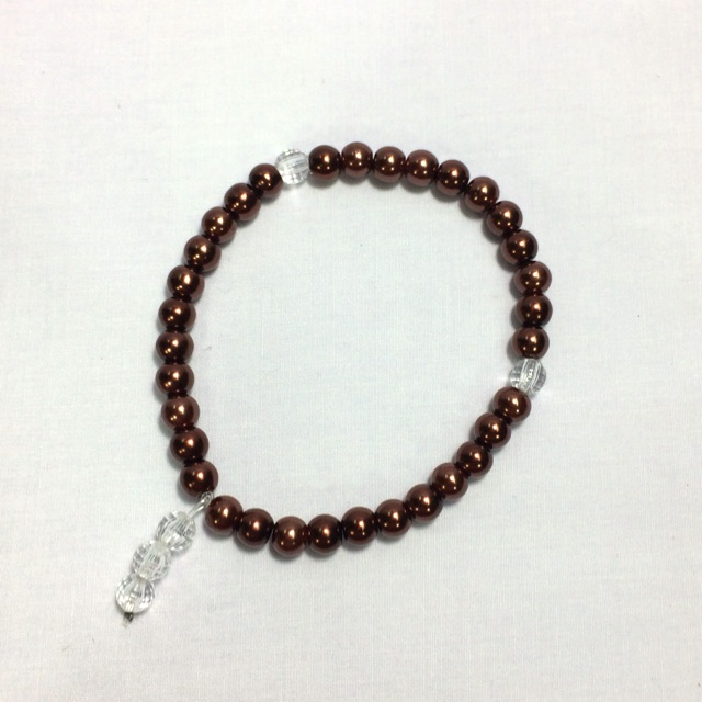 Tasbih Mutiara (Dark Brown)