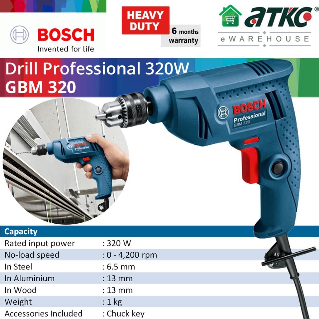 BOSCH GBM 320 Drill Professional 320W (06011A45L0)