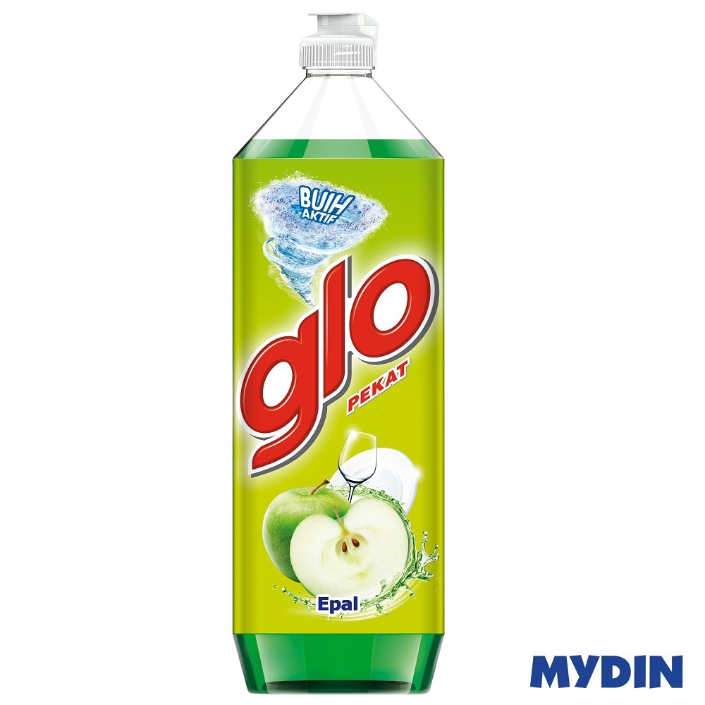 Glo Concentrated Dishwashing Liquid - Apple (900ml)