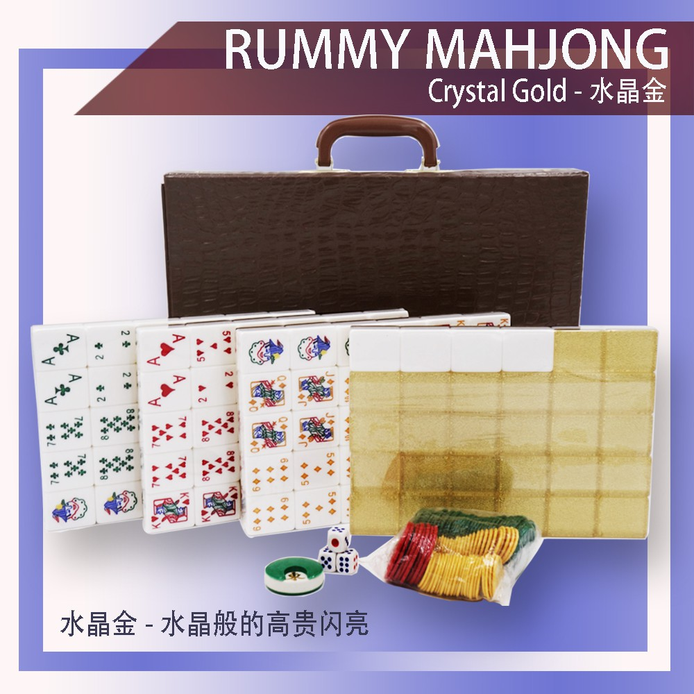 [Ready Stock] Gin Rummy Set A1 Size Premium [Fast Delivery]