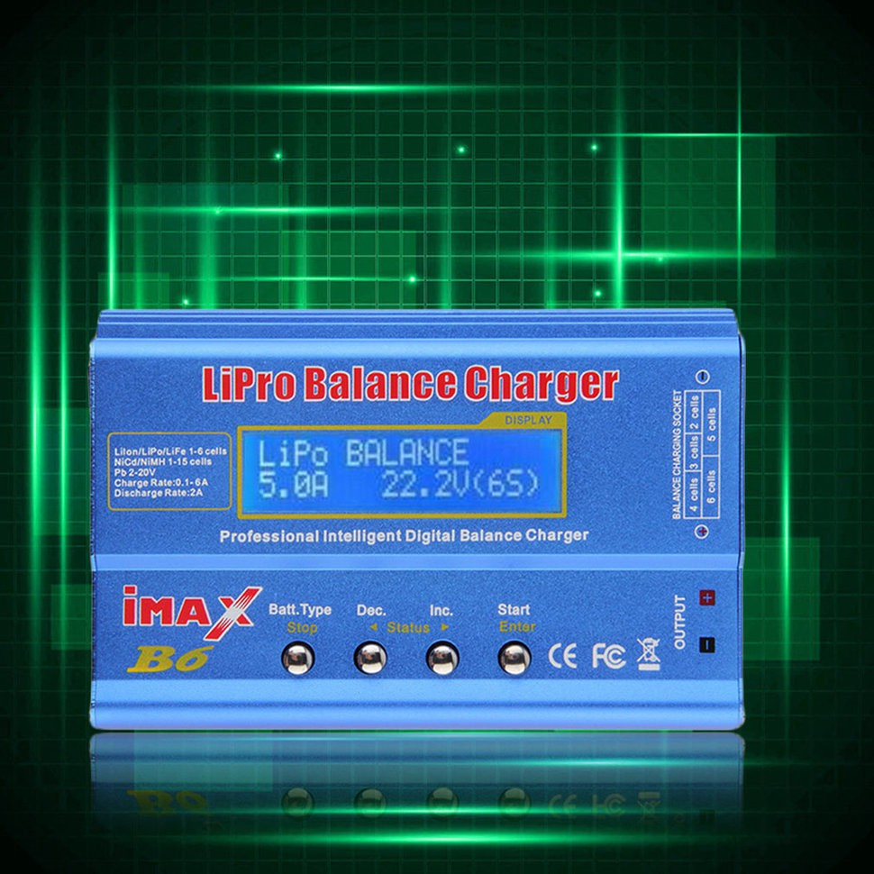Imax B6 Lcd Screen Lipo Li-ion Ni-mh Life Rc Aio Battery Balance Charger Suitable For Input Voltage Within Dc 11~18v Fast Ship Back To Search Resultsconsumer Electronics