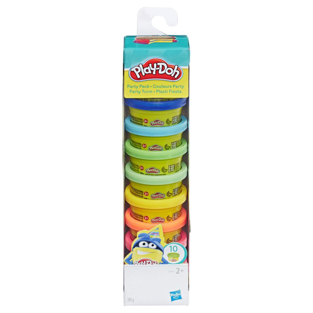 Play-Doh 10-Cans Party Pack (Assorted Colour)
