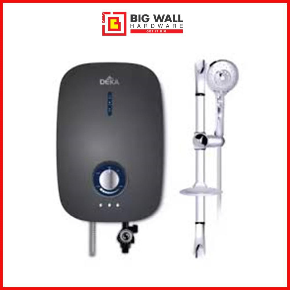 Deka E800 Water Heater with DC Inverter Silent Pump - (Eco serial) Dark Grey *7 Years Warranty from Malaysia