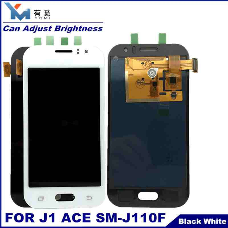 Can Adjust Brightness LCD For Samsung Galaxy J1 Ace J110 SM-J110F J110H LCD  Display Touch Screen Digitizer Assembly